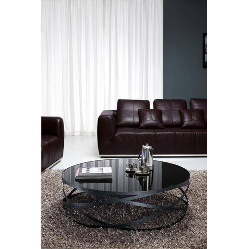 VIG Furniture - Modrest Wixon Modern Black Round Coffee Table
