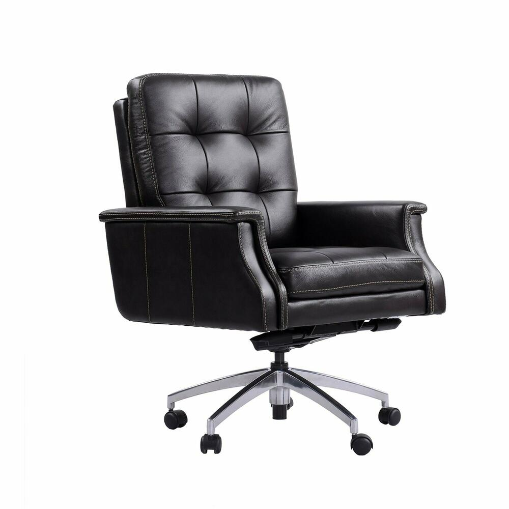 DC#128 Verona Coffee - DESK CHAIR Leather Desk Chair