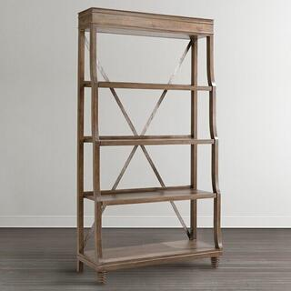 See Details - Western Brown Compass Etagere