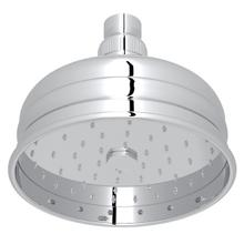 "Polished Chrome 5"" Bordano Rain Anti-Calcium Showerhead"