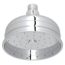 "Polished Chrome 5"" Bordano Rain Anti-Calcium Showerhead"