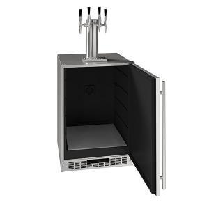 "U-Line24"" 4 Tap Nitro Coffee Dispenser With Stainless Solid Finish (115 V/60 Hz Volts /60 Hz Hz)"