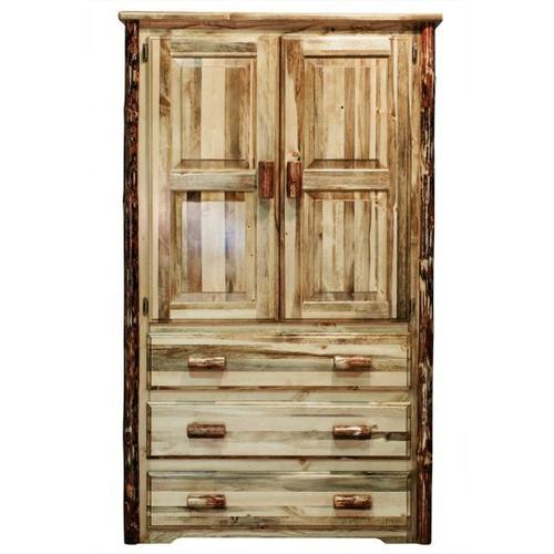 Montana Woodworks - Glacier Country Collection Armoire