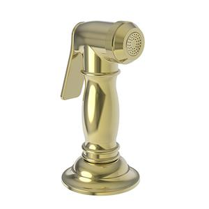Uncoated Polished Brass - Living Kitchen Spray Head