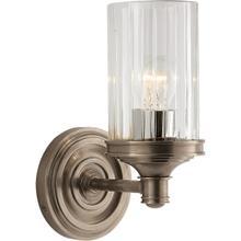 See Details - Alexa Hampton Ava 1 Light 5 inch Antique Nickel Single Sconce Wall Light