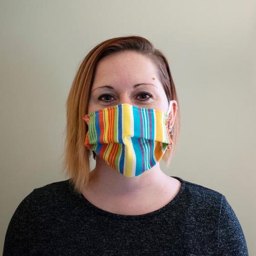 Reusable Face Mask in Tracon Stripe