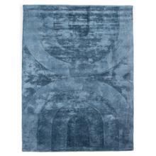 See Details - 5x8' Size Blue Finish Bogan Rug