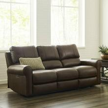 See Details - TRAVIS - VERONA BROWN Power Sofa