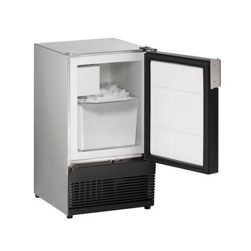 "15"" Crescent Ice Maker With Stainless Solid Finish (115 V/60 Hz Volts /60 Hz Hz)"