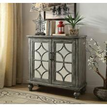 ACME Velika Console Table - 90284 - Weathered Gray