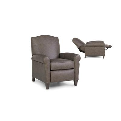 See Details - 713-33 Leather Pressback Reclining Chair