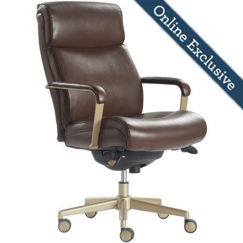 Gallery - Melrose Executive Office Chair, Brown
