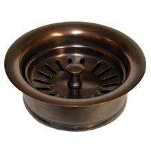 "DR340 3.5"" Basket Strainer w\/ Disposer Trim in Solid Copper"