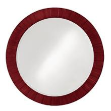 View Product - Serenity Mirror - Glossy Burgundy