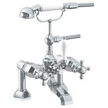 View Product - Deck Mounted Exposed Bath Set With Hand Shower