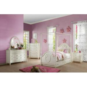 ACME Dorothy Twin Bed (Poster) - 30360T - Ivory