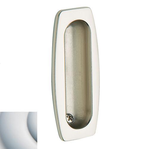 Baldwin - Satin Chrome Flush Pull