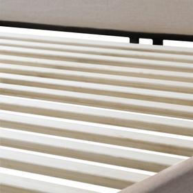 Godfrey Designer Bed - Queen Oat