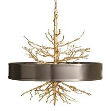 See Details - Twig Pendant-Brass w/Bronze Shade