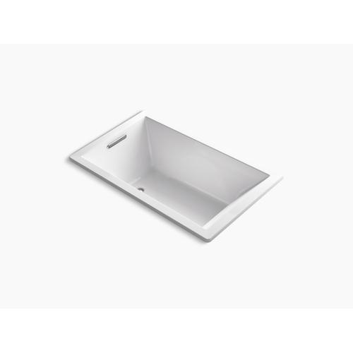 "Ice Grey 60"" X 36"" Drop-in Vibracoustic Bath"