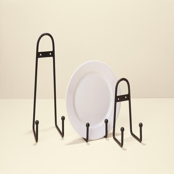 Global Views - Ball Design Plate Stand-Lg