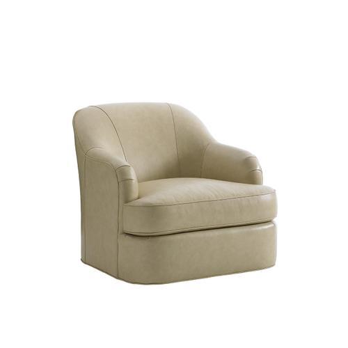 Alta Vista Leather Swivel Chair Alta Vista Leather Swivel Chair