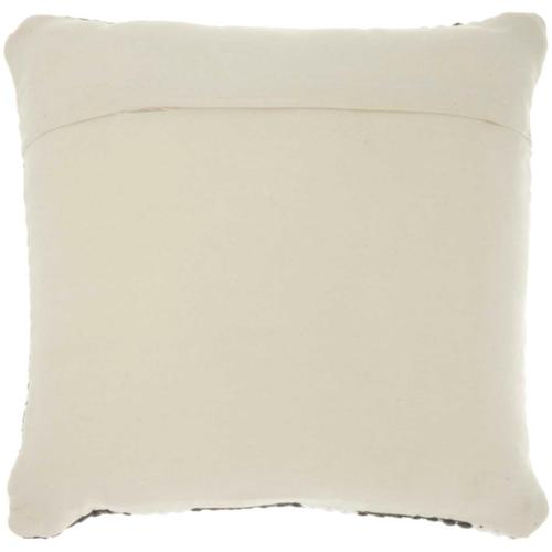 """Life Styles Dl881 Charcoal 20"""" X 20"""" Throw Pillow"""