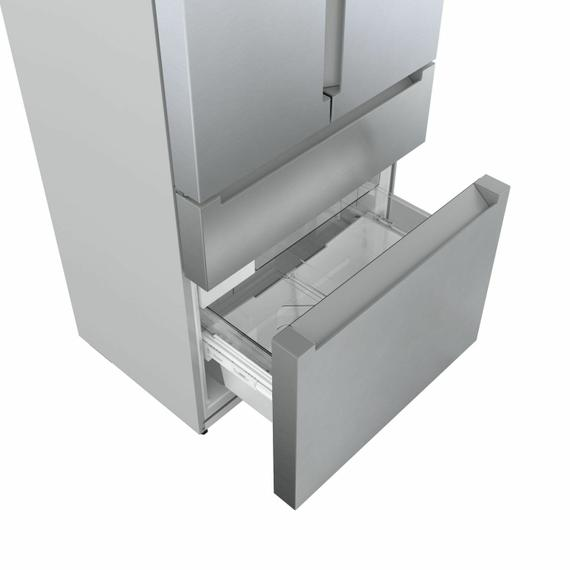 800 Series French Door Bottom Mount Refrigerator 36'' Easy clean stainless steel B36CL80ENS