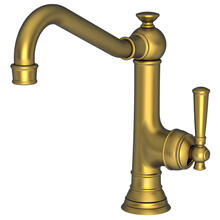 Satin Brass - PVD Single Handle Kitchen Faucet