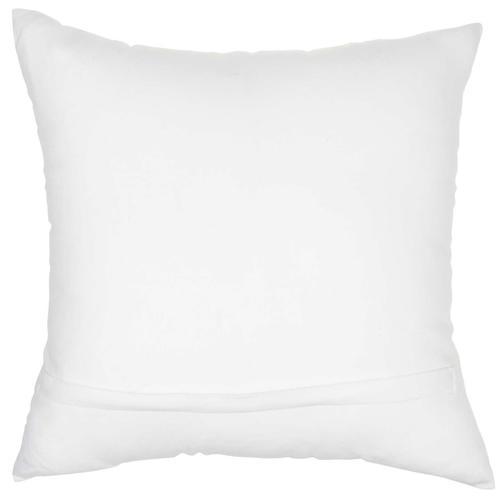 """Trendy, Hip, New-age Jb015 White 18"""" X 18"""" Throw Pillow"""