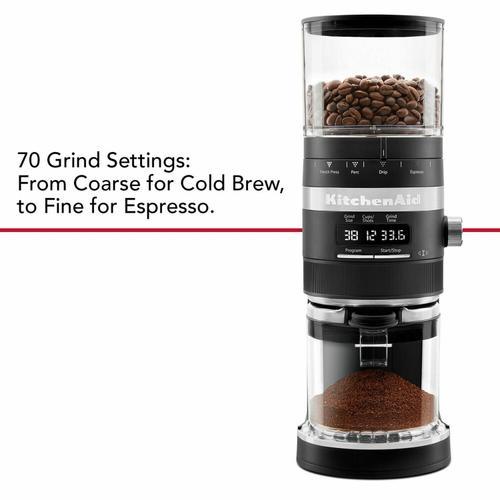 Gallery - Burr Coffee Grinder - Black Matte