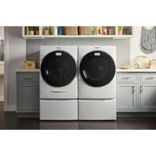 5.0 cu. ft. Smart Front Load Washer with Load & Go XL Plus Dispenser and Electric Dryer SET