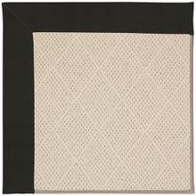 "Creative Concepts-White Wicker Canvas Black - Rectangle - 24"" x 36"""
