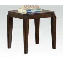ACME Docila End Table - 80662 - Walnut