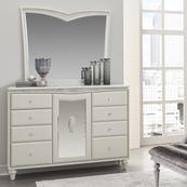 Storage Console- Dresser W/mirror (2pc)