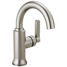 Spotshield Brushed Nickel Single Handle Bathroom Faucet