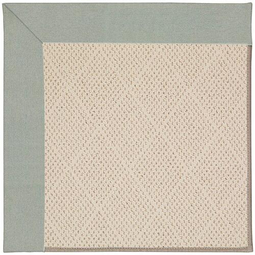 Capel Rugs - Creative Concepts-White Wicker Canvas Spa Blue - Rectangle - 9' x 12'