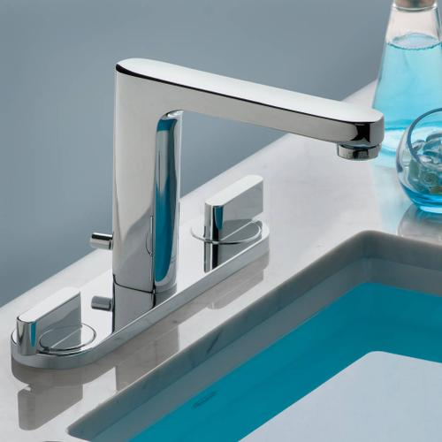 Moments Widespread High-Arc Bathroom Faucet  American Standard - Polished Chrome