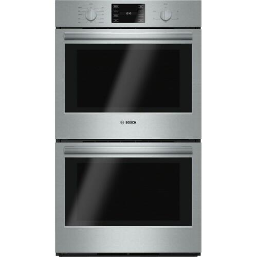 """Bosch - 500 Series, 30"""", Double Wall Oven, SS, EU conv./Thermal, Knob Control"""