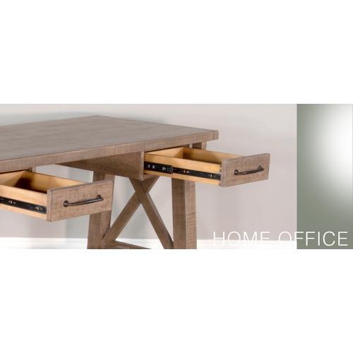 Sunny Designs - Dbl. Slat Back Chair, Cushion Seat