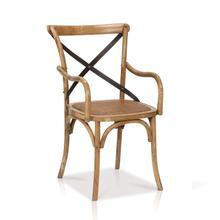 Reva Cross-Back Arm Chair