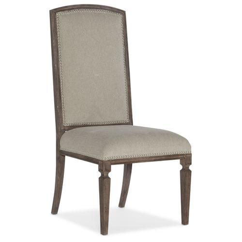 Dining Room Woodlands Arched Upholstered Side Chair - 2 per carton/price ea