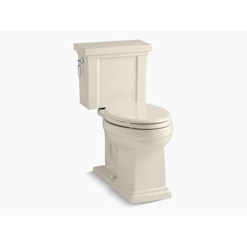 Kohler - Almond Two-piece Elongated 1.28 Gpf Chair Height Toilet