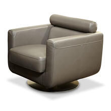 Novelo Leather Swivel Chair