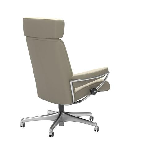 Stressless By Ekornes - Stressless® London Home Office Adjustable Headrest