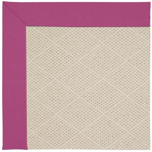 "Creative Concepts-White Wicker Canvas Hot Pink - Rectangle - 24"" x 36"""