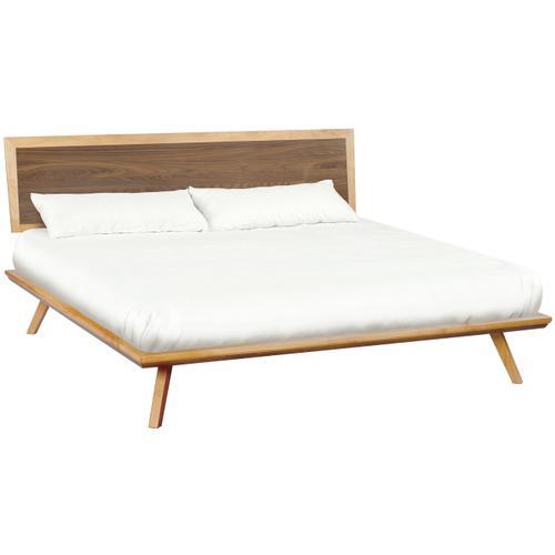 DUET Addsion King Adjustable Headboard Platform Bed