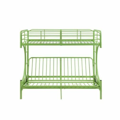 ACME Eclipse Twin/Full/Futon Bunk Bed - 02081GR - Green