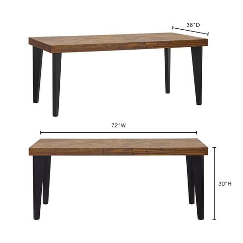 Moe's Home Collection - Parq Rectangular Dining Table