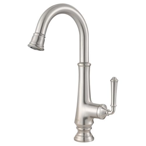 American Standard - Delancey Single Handle Bar Sink Faucet  American Standard - Stainless Steel